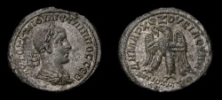 Ancient Coins - SYRIA, Seleucis and Pieria. Antioch, Philip II, A.D. 247-249, AR Tetradrachm (27 mm, 12.03 gm, 12 h), Struck A.D. 248-249 EF