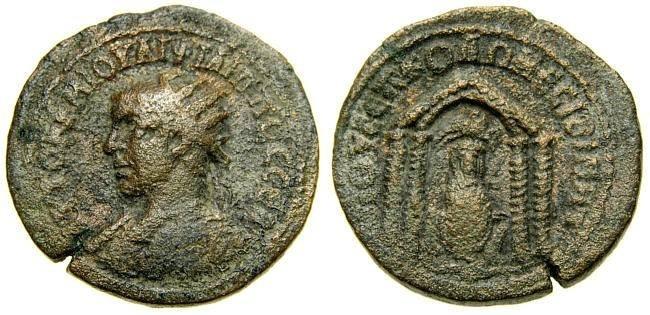 Ancient Coins - MESOPOTAMIA, Nisibis, Philip I, A.D. 244-249, Æ 26 mm (11.36 gm., 12h) Good Fine+