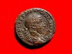 Ancient Coins - Gordian III (238-244 AD) AE as (10,64, 25 mm), Rome. SALVS AVG. Very rare.