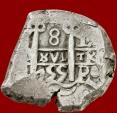 Ancient Coins - Spain, Ferdinandus VI, 8 reales silver. Assayer Q. Potosi mint, 1755.