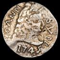 World Coins - India Portuguesa, D. João V,. 1 Rupia - (Goa mint), 1745.