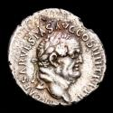 Ancient Coins - Vespasian (AD 69 - 79) - Silver denarius - From Asia minor mint. Ephesus, AD 74. - CONCORDIA AVG Concordia or Ceres