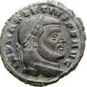 Ancient Coins - Maxentius (307-312). bronze follis Carthage. - CONSERVATOR AFRICAE SVAE SE-F / Γ, Africa