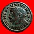 Ancient Coins - Roman Empire - Constantius I Chlorus as caesar (293 - 305 A.D.) bronze large follis (9,55 g. 28 mm.). Lugdunum mint 301-303 A.D. GENIO POPVLI ROMANI /PLC. Scarce.
