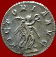 "Ancient Coins - Roman Empire - Philip I ""the Arab"" (244-249 AD), silver antoninianus, Rome, AD 244-247.  VICTORIA AVG.  RIC 49b."