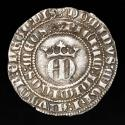 Ancient Coins - Medieval Spain Enrique II (Kingdom of Castile, 1368 - 1379) Silver Real, Minted in the Seville