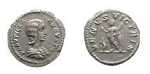 Ancient Coins - Plautilla AR denarius. Rome. A.D. 202-205. VENVS VICTRIX