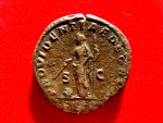Ancient Coins - Roman Empire - Caracalla, (198-217 A.D.), bronze sestertius (20,63 g. 30 mm.), Rome mint, AD 211-213. PROVIDENTIAE DEORVM. Scarce.