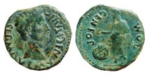 Ancient Coins - SPAIN, as Italica, Santiponce (Sevilla). GEN.POP.ROM. Augustus, 12 BC - 14 AD.