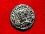 Ancient Coins -  Probus (276 - 282 A.D.) silvered antoninianus (4,40 g. 24 mm.) from Cyzicus mint, 281 A.D. VIRTVS PROBI AVG. Z / XXIMC.