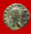 Ancient Coins - Roman empire - Gallienus (253-268 A.D.) bronze denarius (2,17 gm., 18 mm .), Rome mint. SECVRIT PERPET.