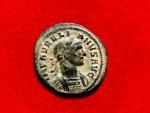Ancient Coins - Aurelian bronze denarius. Rome. A, 270-275 AD. VICTORIA AVG. Scarce!!