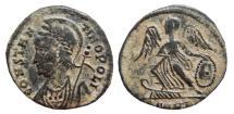 Ancient Coins - Constantinopolis follis, 330 - 333 A.D. Heraclea. CONSTAN-TINOPOLI. SMHB