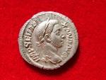 Ancient Coins - Roman Empire - Severus Alexander (222-235 A.D.) silver denarius (2,94 grs. 20 mm), Rome, 229 A.D. P M TR P VIII COS III PP. Libertas.