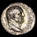 Ancient Coins - CAPPADOCIA. Caesarea. Vespasian with Titus (69-79). Ar Didrachm. Double Bust.