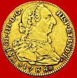 Charles III(1759-1788), 4 escudos gold coin, minted in Madrid in the year of 1788. Assayer M.