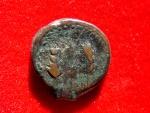 Nice Tingis, Mauritania AE18. II-I century BC. (Tanger) Baal/3spikes
