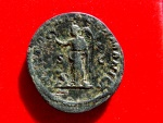 Ancient Coins - Maximinus I Thrax (235-238) bronze sestertius ( 22,28 grs. 29 mm.) minted in Rome. 236 A.D. VICTORIA GERMANICA SC. Victory holding wreath and palm.