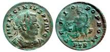 Ancient Coins - Licinius I AE follis, Trier mint,  313 - 315 A.D.; GENIO POP ROM. T/F. PTR.