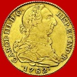 Charles III(1759-1788), 4 escudos gold coin, minted in Madrid in the year of 1782. Assayer JD.