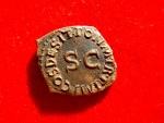 Ancient Coins - Very nice Claudius I AE quadrans. Modius. S/C