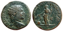 Ancient Coins - Caracalla AE dupondius. 214-217. PROVIDENTIAE DEORVM S-C. Very scarce