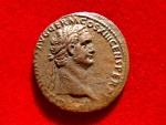 Ancient Coins - Roman Empire - Domitian (81-96 A.D.), bronze as (8,38 g. 28 mm.), Rome mint, 92-94 A.D. FORTVNAE AVGVSTI.