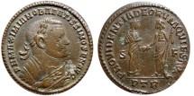 Ancient Coins - Maximianus large follis. Trier mint, ca. AD 305. PROVIDENTIA DEORVM QVIES AVGG. S/F, PTR