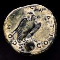 Ancient Coins - Divus Lucius Verus (died 169). Æ sestertius. Rome, AD 169. Scarce!