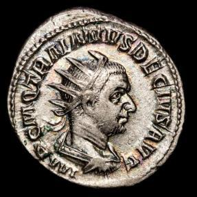 Ancient Coins - Traianus Decius (249-251 AD) Ar Antoninianus, Mediolanum. - PANNONIAE Two Pannoniae.