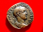 Ancient Coins - Roman Empire - Gordian III (238-244 A.D.) bronze sestertius ( 18,80g,. 29 mm.) Rome mint. 6th officina. 1st emission, AD 238. VICTORIA AVG.