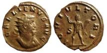 Ancient Coins - Gallienus silvered antoninianus. 260-268 A.D. IOVI.VLTORI. S.