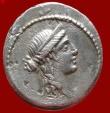 M. Aemilius Lepidus silver denarius (18 mm 3,91 g.) minted in Rome, 61 B.C. Horseman