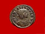 Ancient Coins - Aurelian (270 - 275 A.D.) silvered antoninianus (3,89 g. 23 mm.). Ticinum mint, 274 A.D., ORIENS.AVG. P.