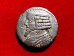 Ancient Coins - Kings of Parthia. Phraates IV (38-2 BC). Silver tetradrachm minted in Seleukeia.
