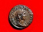 Ancient Coins - Otacilia Severa (244-249) AE as, Rome, 248 A.C. SAECVLARES AVGG. Colum. Rare