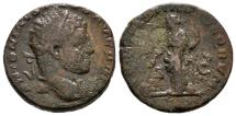 Ancient Coins - Roman Empire - Caracalla (198-217 A.D.), bronze dupondius (11,60 grs. 23 mm), Rome mint, 210-213 A.D. PROVIDENTIAE DEORVM. Very rare!