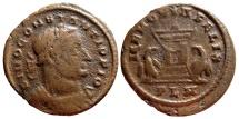 Ancient Coins - Very scarce DIVO CONSTANTIUS I PIO. Londinum PLN. MEMORIA FELIX