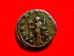 Ancient Coins - Trajan Decius (249-251 A.D.)bronze as (24 mm - 10,88 g). Rome mint Struck 250 A.D. LIBERALITAS AVG. Special edition.