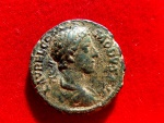 Ancient Coins - Roman Empire - Commodus. (A.D. 177-192) bronze as (11,04 grs. 25 mm.) from Rome mint, struck A.D. 178. Victory with wreath. TR P III - IMP II COS P P.