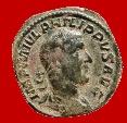 Philip I (244-249 A.D.), bronze sestertius ( 21,12 g. 30 mm ) minted in Rome, LAET. FVNDATA. Laetitia.