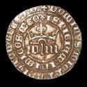 Ancient Coins - Medieval Spain Kingdom of Castille and Leon. Juan I (1379-1390). Silver real. Sevilla.