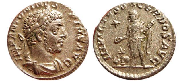 Ancient Coins - Elagabalus AR denarius. 218-222 AD. INVICTVS.SACERDOS.AVG.