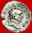 Ancient Coins - Roman Empire - Trajan Decius (249-251 A.D.) silver antoninianus (4,30 grs. 22 mm.), Rome mint, 251 A.D. DIVO VESPASIANO. Rare!!!