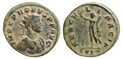 Ancient Coins - Probus AE antoninianus. Ticinum.278 AD. HERCVLI PACIF. SXXT.