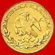 World Coins - México - 1 escudo gold coin, Mexico city, Mexican Republic, 1863. T·H.
