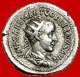"Ancient Coins - GORDIAN III, SILVER ANTONINIANUS. 238-244 A.D. ROME MINT. ""PAX AVGVSTI"". RIC 189 (A). VF CONDITION. RARE."