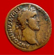 Ancient Coins - Roman Empire - Antoninus Pius (138 - 161 A.D.) bronze sestertius ( 24,15 g, 31 mm ). Rome mint. S-C.