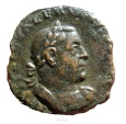 Ancient Coins - Roman Empire - Valerianus I (253-260) bronze Sestertius (26 mm, 17,64 g.), minted in 255-256 A.D. LIBERALITAS AVGG.