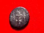 Roman Republic - Mark Antony silver denarius (3,59 g. 17 mm.) minted around 32-31 B.C. LEG XII ANTIQVAE, very rare.